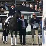 2a plats i CDI3* Grand Prix Freestyle to Music på Falsterbo Horse Show