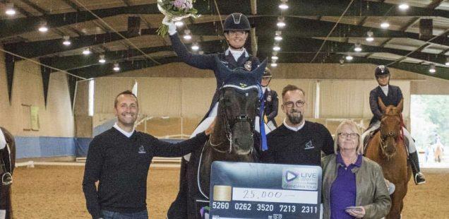 Paulinda vann andra kvalet i LiveArena och DressagePower Grand Prix Tour