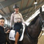 Besök av Saddle Up Sverige och Matt Harnacke, på Viafree 3 dec